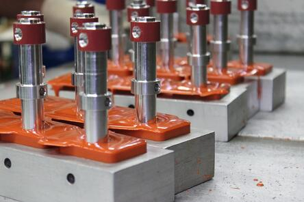 Cast molded polyurethane components