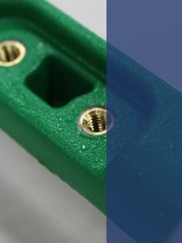 RIM Surface Finish and Encapsulated Inserts_