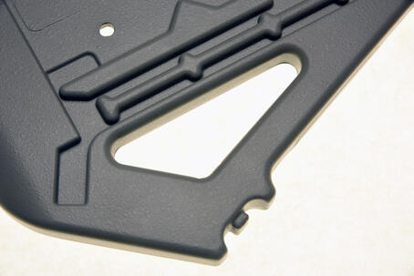 Reaction Injection Molded part